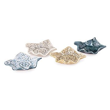 Pressed Lace Coasters