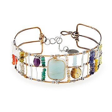 Bejeweled Treasure Bracelet