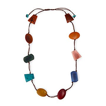 Tagua Shapes Necklace