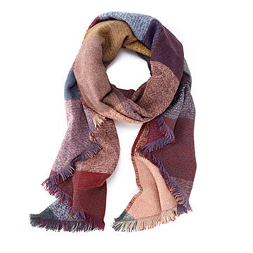 Early Autumn Blanket Scarf Wrap