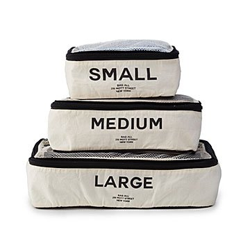 Organized Packing Cubes Set of 3