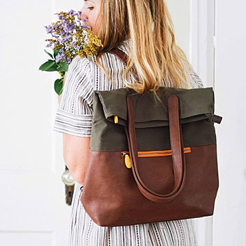 Convertible Tote & Backpack