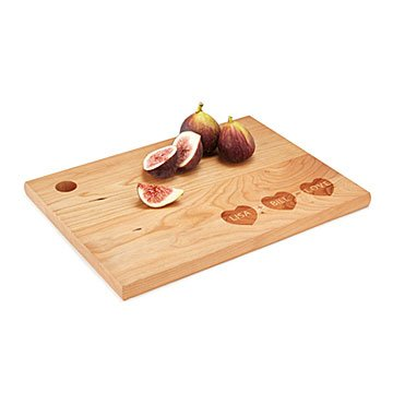 Personalized Family Math Cutting Board