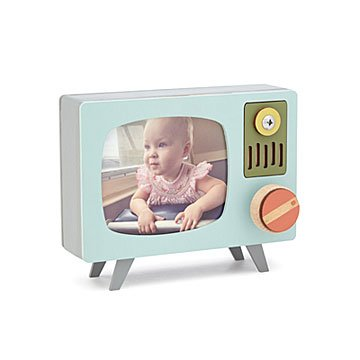 Retro TV Music Box and Frame